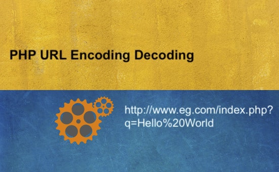 PHP URL Encoding Decoding
