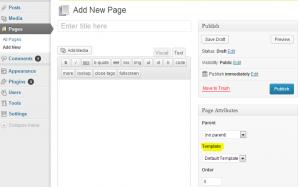 WordpressPage