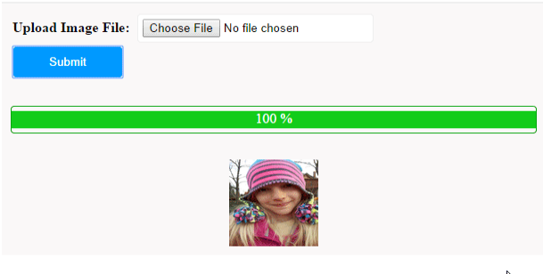 jQuery Progress Bar for PHP AJAX File Upload - Phppot