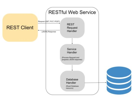 RESTful Web Services API Architecture