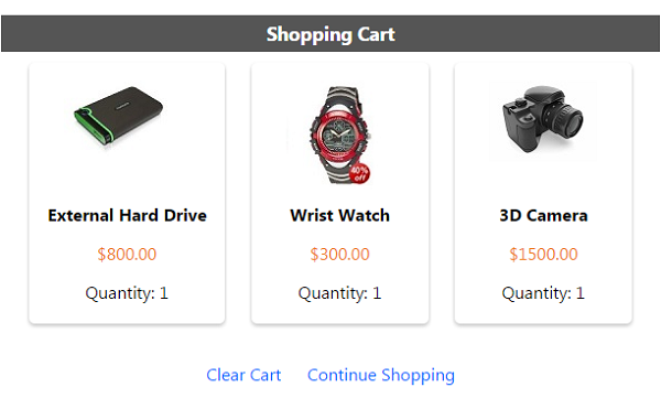Responsive Php Shopping Cart Phppot