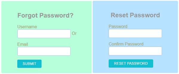 PHP Forgot Password Recover Code - Phppot
