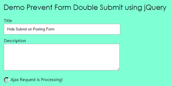 prevent-form-double-submit