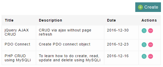 how to delete from crud with php mysqli