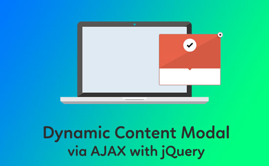 Dynamic Content Modal via AJAX with jQuery - Phppot