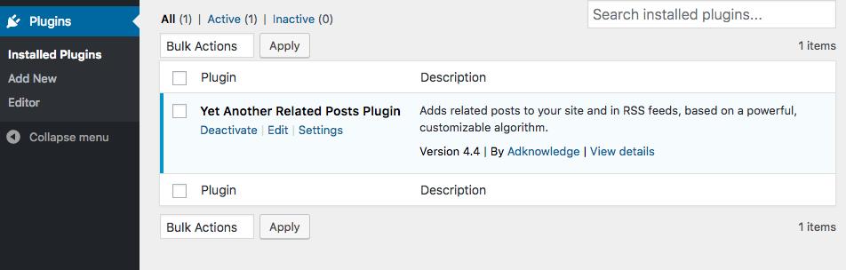 add-install-yarpp  - add install yarpp - Show Related Posts in WordPress using YARPP Plugin
