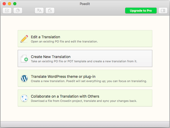 create-new-translation-files  - create new translation files - How to Translate WordPress Translation Ready Themes