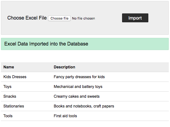 Import Excel File into MySQL Database using PHP - Phppot