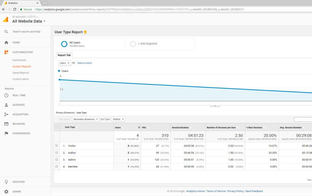 google-analytics-custom-report-with-user-type