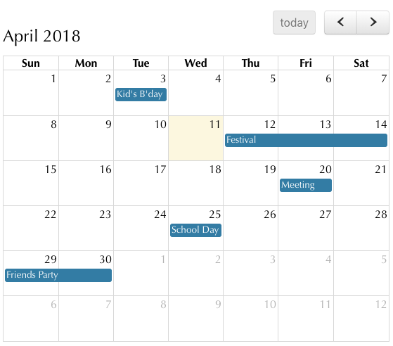 php-calendar-event-management-output