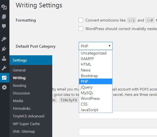 Category Uncategorized.How To Rename Uncategorized From Wordpress Category Phppot
