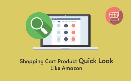 Shopping-Cart-Product-Quick-Look-Like-Amazon