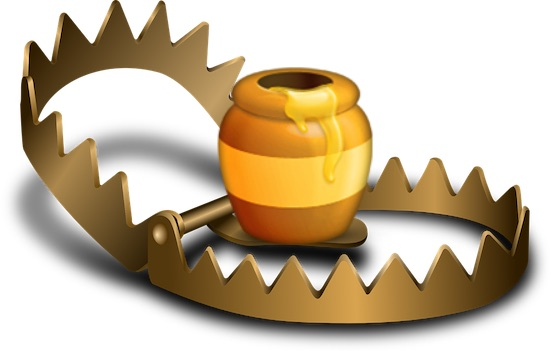 honeypot-with-trap