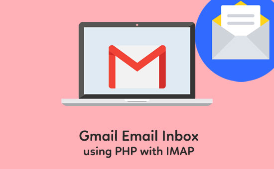 Gmail-Email-Inbox-using-PHP-with-IMAP