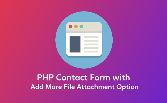 PHP-Contact-Form-with-Add-More-File-Attachment-Option