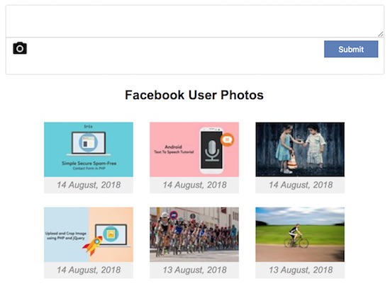 Read-and-Upload-Facebook-User-Photo-Output
