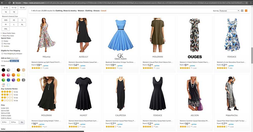 eCommerce-shopping-cart-software-amazon-gallery