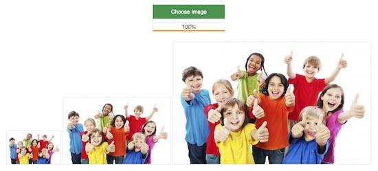How to Create Multiple Thumbnails while Uploading Image Output