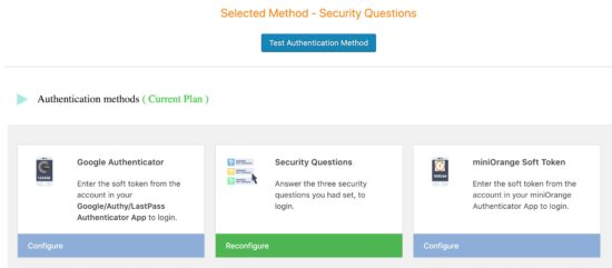 WordPress Two Factor Authentication with Security Questions