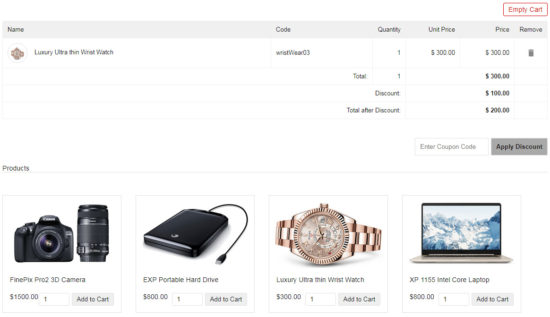 How to develop eCommerce software with discount coupon