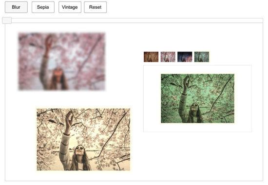 Blur Sepia Vintage Effect- Output