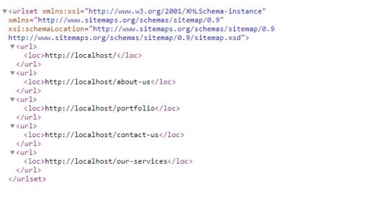 Generated Sitemap Xml