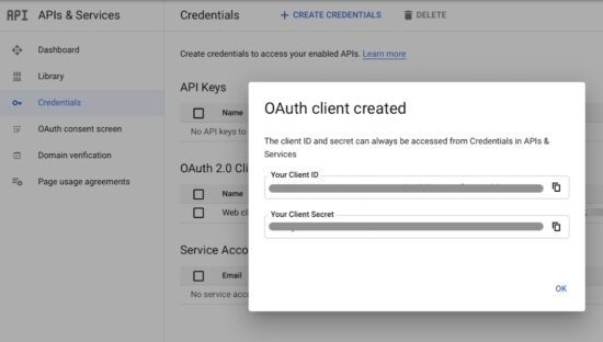 Generate Gmail API Keys and Token