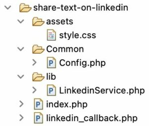 Text Share on LinkedIn Files