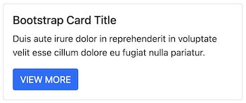 bootstrap card quick example output