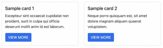 Bootstrap Card Sizing