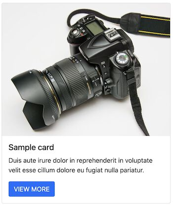 Bootstrap Cards with Image