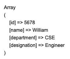 php object to array