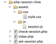 php session time files